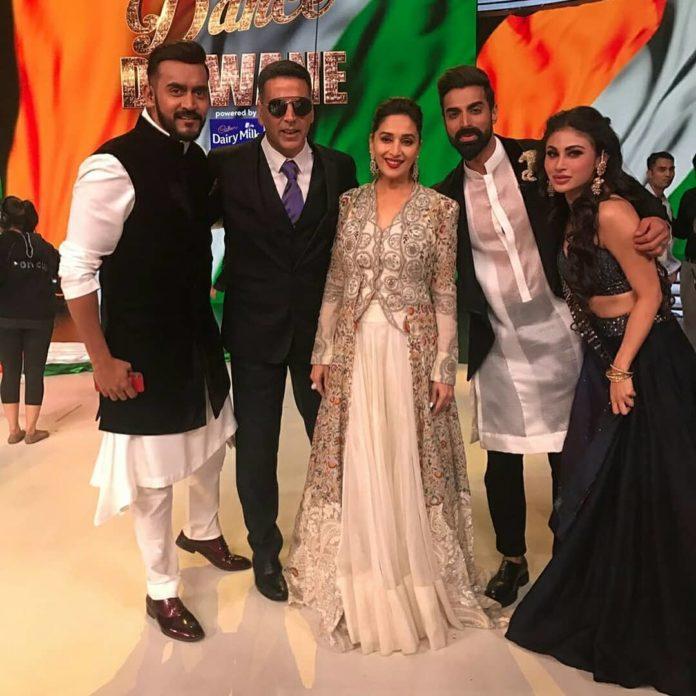 Dance Deewane Akshay Kumar & Mouni Roy for Gold 2018 Promotions