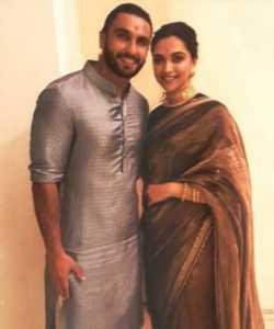 Deepika Ranveer Wedding Pic