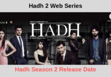Hadh Season 2 hadh 2 web series