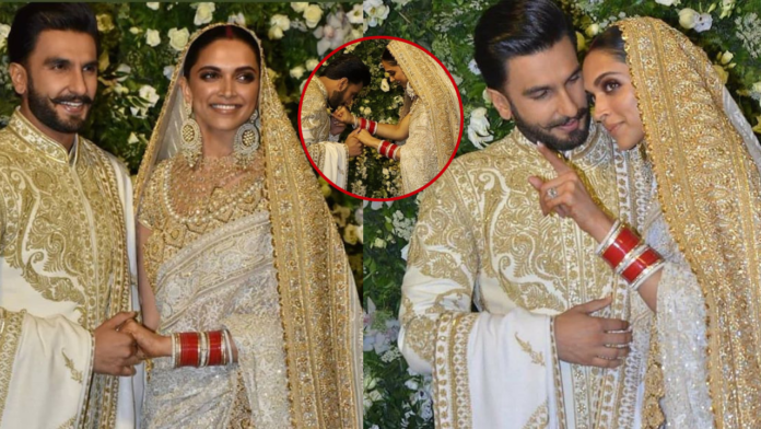 Deepika Padukone and Ranveer Singh Mumbai Reception Live