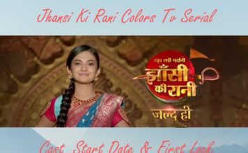 Jhansi Ki Rani Colors Tv Serial
