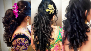 5 Trendy Hairstyles for Saree for Party, Functions and Farewell