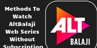 AltBalaji Webseries for free