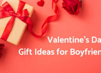Valentine Day Gift Ideas for Boyfriend