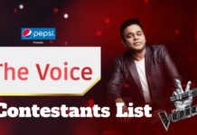 star plus the voice contestants