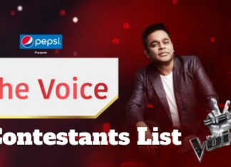 star plus the voice contestants