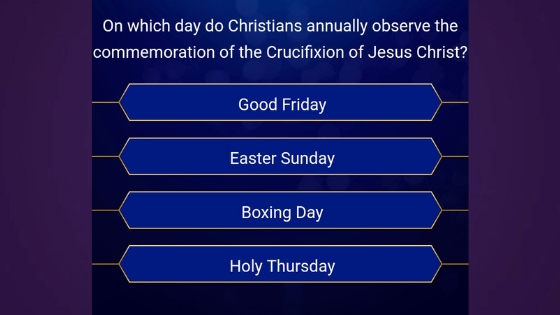 On Which Day Do Christians Annually Observe The Commemoration Of The