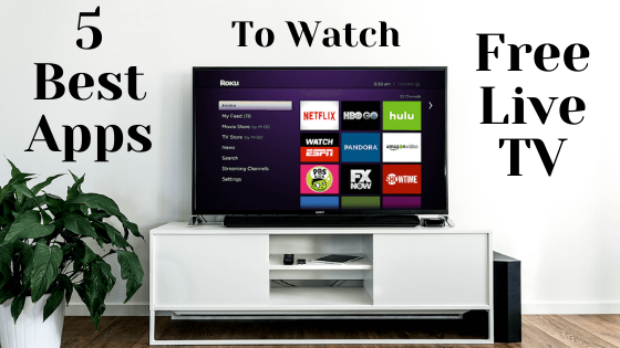 live tv apps for Android tv