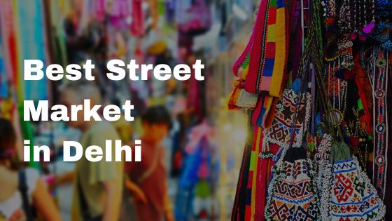 Street Market in Delhi