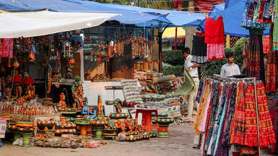 Dilli Haat Street market
