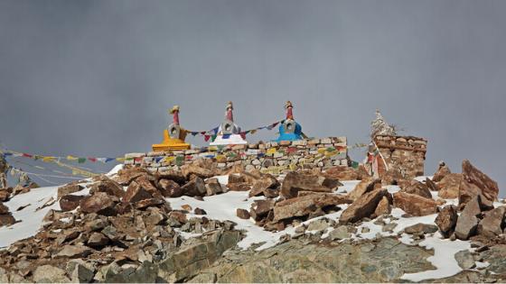 snowfall in ladakh 2020