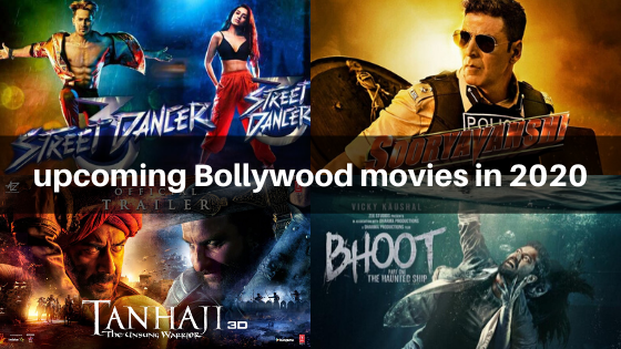 upcoming Bollywood movies in 2020