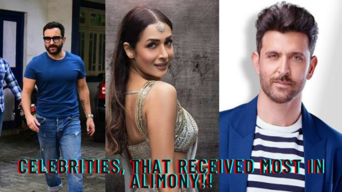 Celebrities, that received most in alimony!!