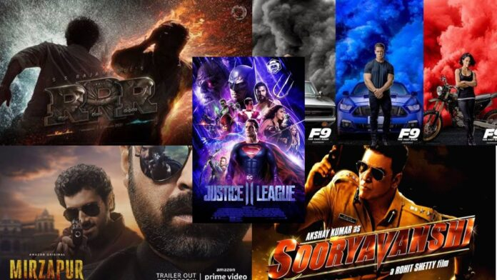 upcoming Films and web series