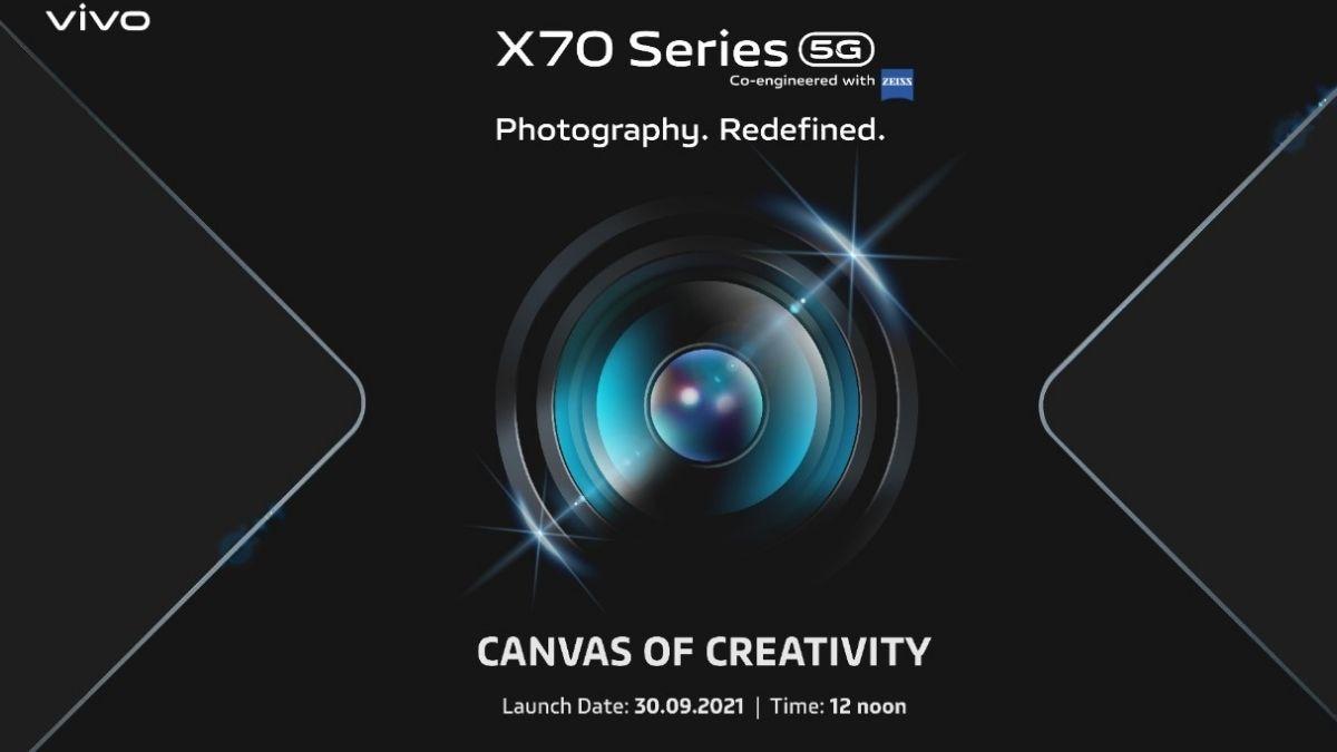 vivo x70 series india launch